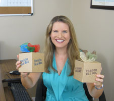 Certified Trainer Heather Wolf, Creator of Cardio in a Box